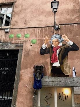 Big Ben street Art