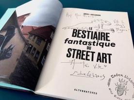 Bestiaire fantastique du street art