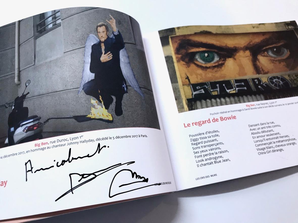 Big Ben Les yeux de David Bowie