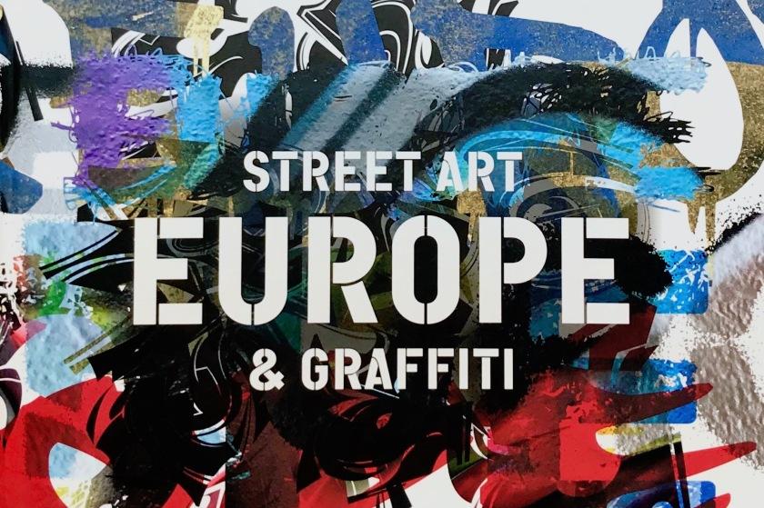 Livre Europe street art et graffiti