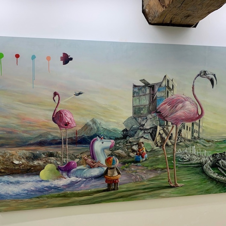 Jonathan Ouisse Flamingos