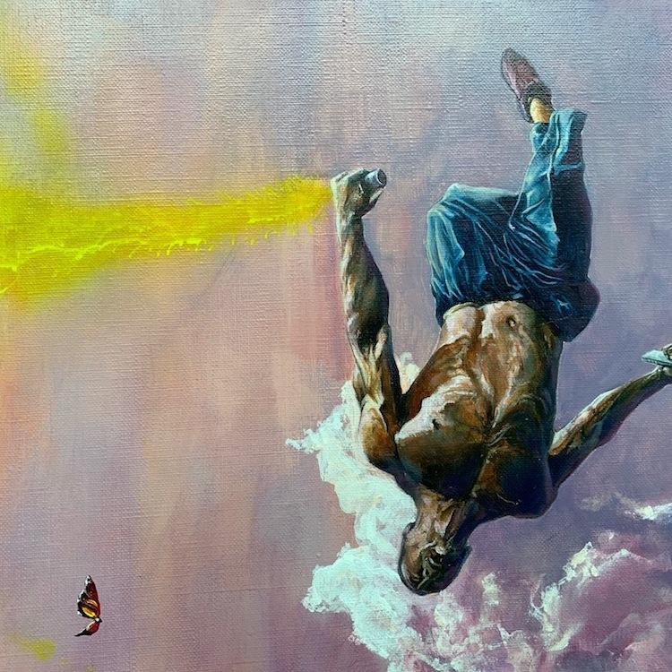 Jonathan Ouisse Free fall