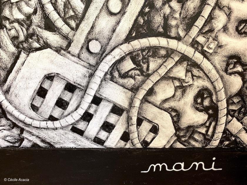 La mecanique du coeur de Mani - Galerie SITIO Lyon