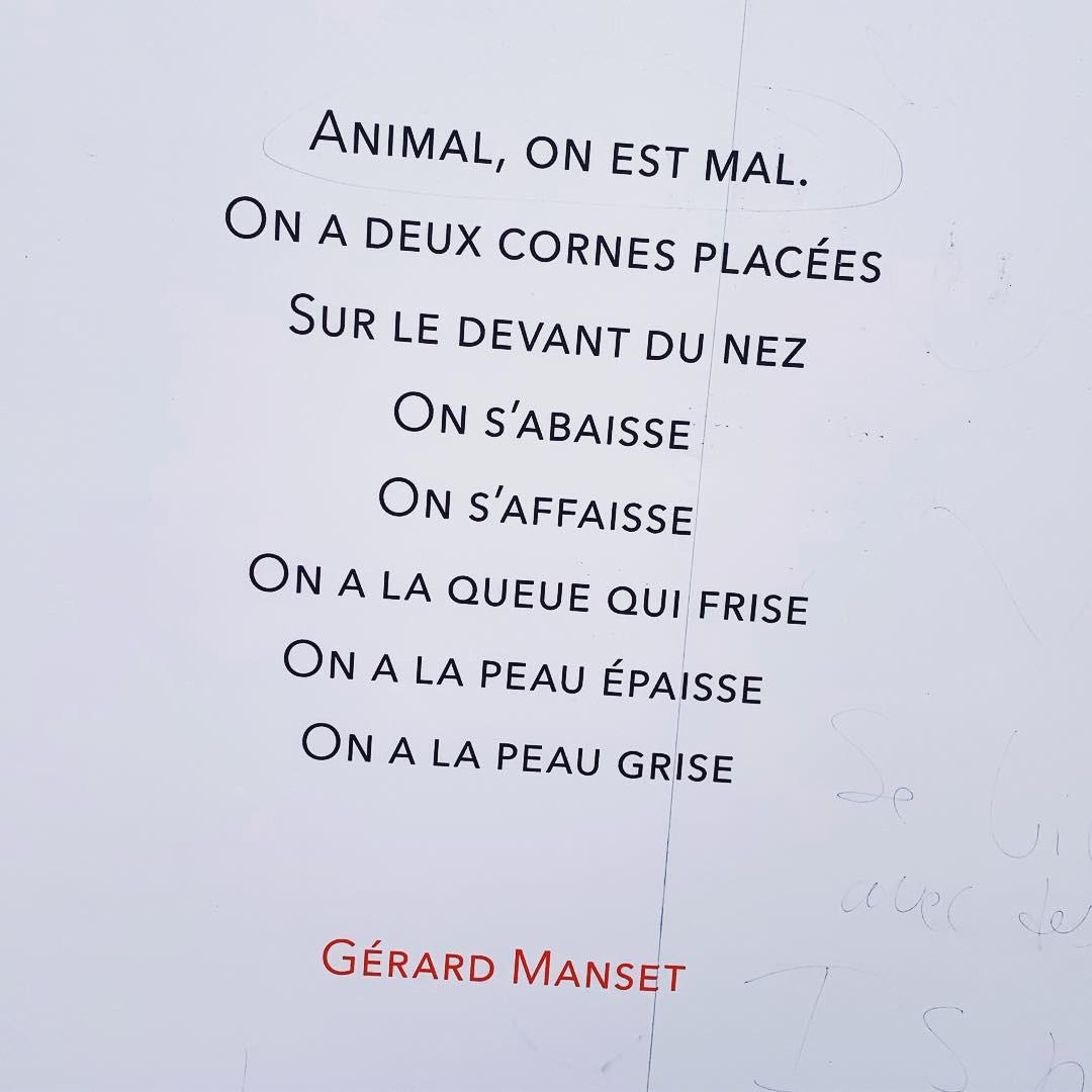 Gérard Manset Printemps des Poètes 2019