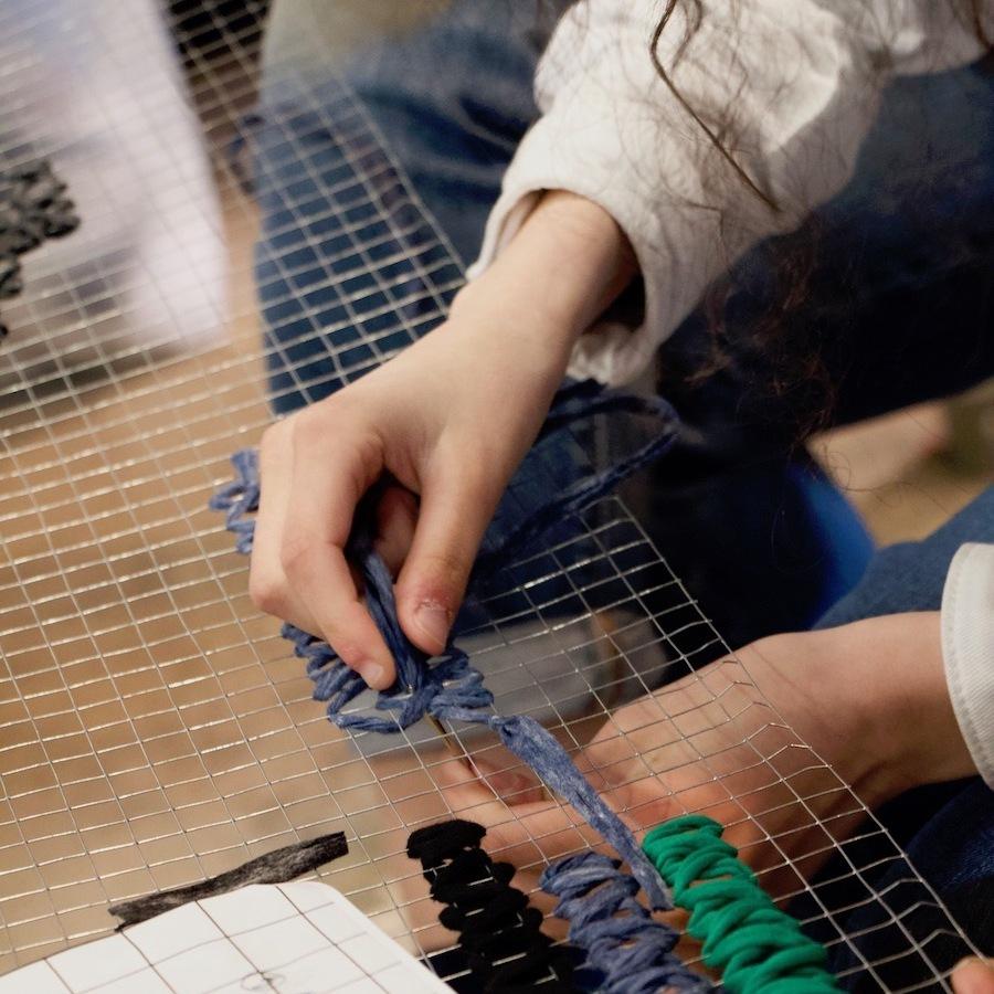 Atelier Yarn bombing