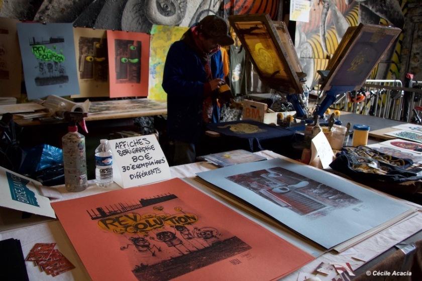 Atelier sérigraphie Nikodem