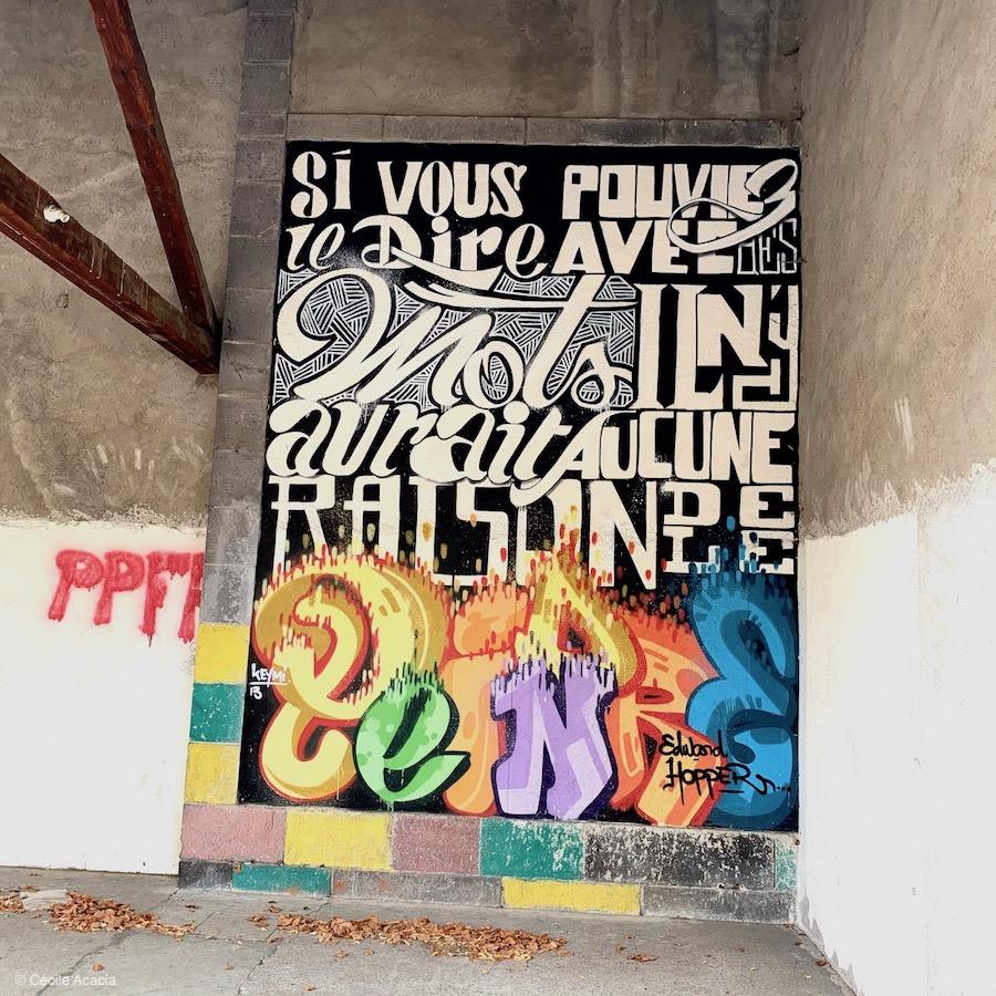 street art à Saint-Saturnin