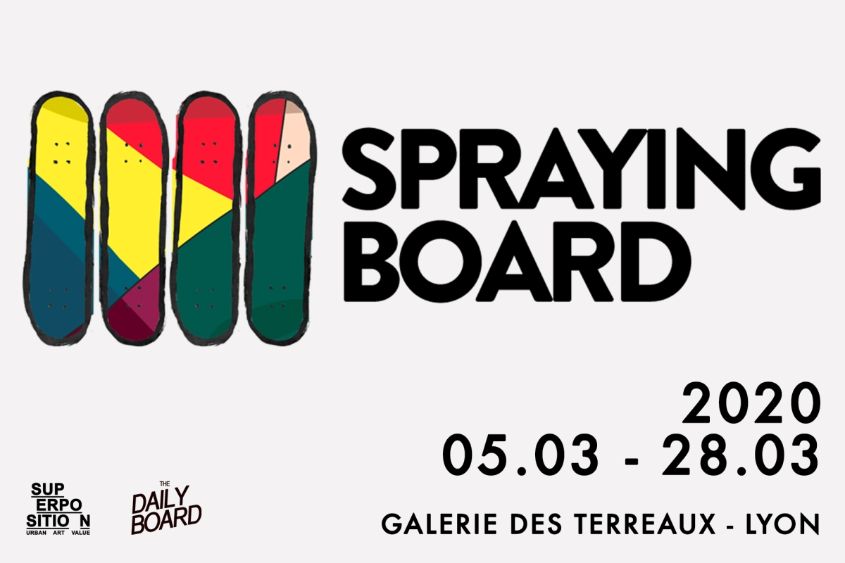 expo spraying board superposition & the daily board