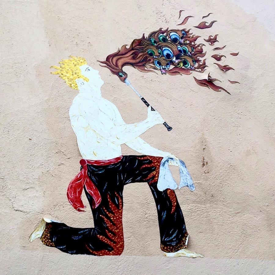 OMALLEY street art lyon