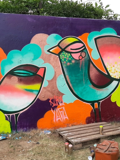 interview Kara Yaga street art