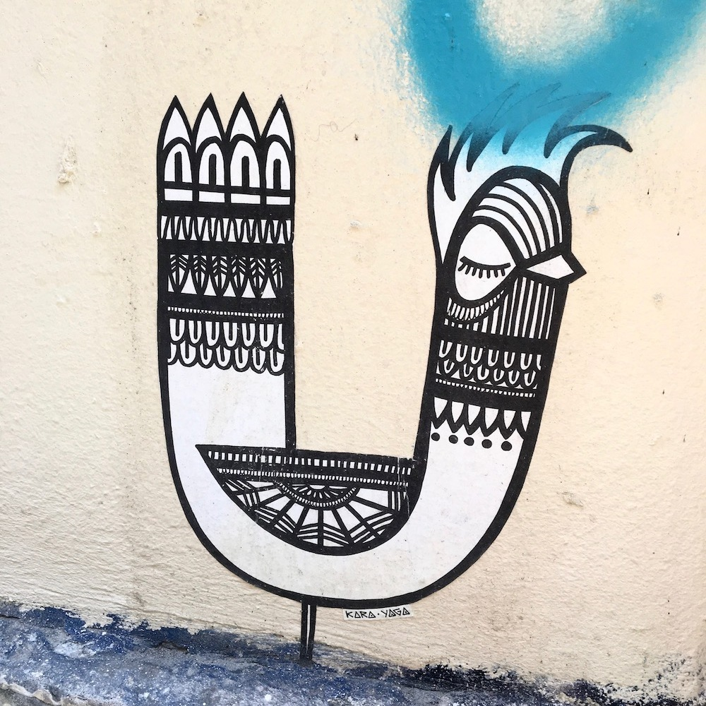 Kara Yaga street art