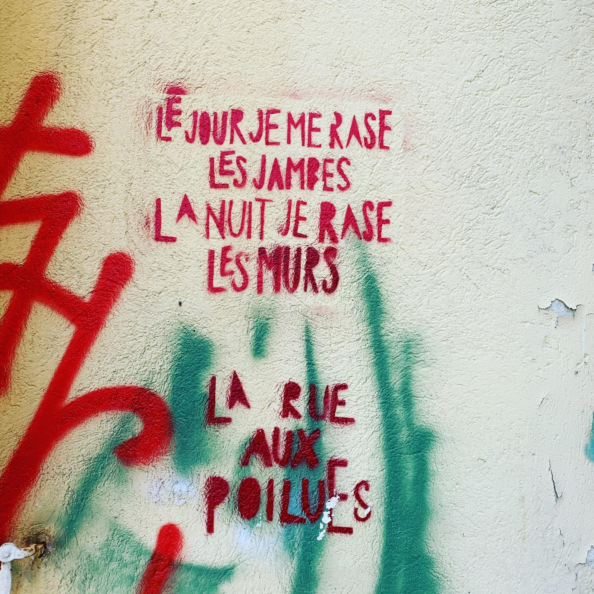 LA RUE AUX POILUES