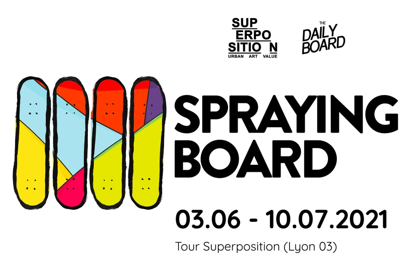 Exposition Spraying Boards2021